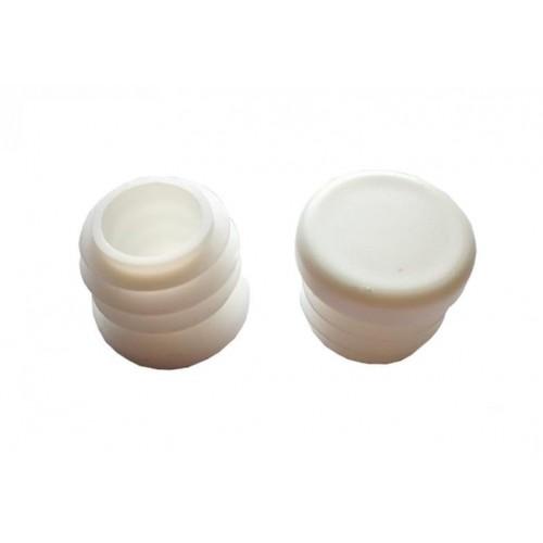 PMMA záslepka pro PMMA trubky 16/2mm na LED pásky, bílá