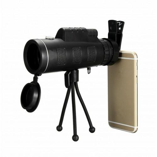 LN4A Universální objedktiv 40x60 se stativem k mobilnímu telefonu