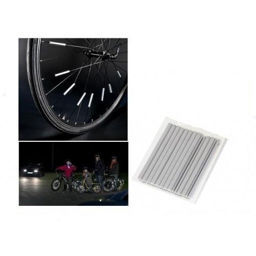 AG190B Reflexní tyčinky na výplet (dráty špice) jízdních kol, 12ks