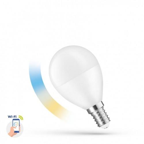 LED Koule 5W E-14 230V CCT+DIMM WI-FI SPECTRUM     SMART