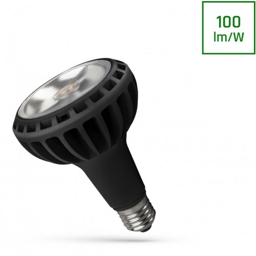 LED PAR30 E27 230V 20W COB 24ST Neutrální bílá Černá SPECTRUM