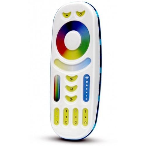 FUT092 Mi-Light RF Dálkový dotykový ovladač pro LED pásky RGBW+CCT, 4 kanály