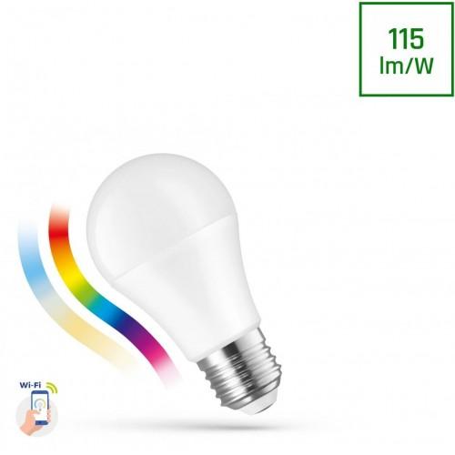 LED GLS 13W E-27 230V RGBW+CCT+DIM WI-FI/BT SPECTRUM SMART
