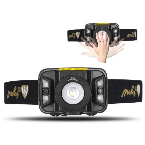 LED nabíjecí čelovka s čidlem a zoomem - LH04R