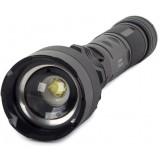 BAILONG LED CREE XHP50 ZOOM USB  Svítilna s nabíječkou, černá
