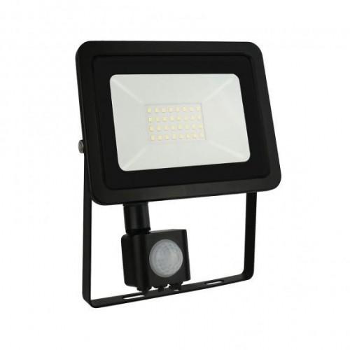 LED reflektor NOCTIS LUX 2 30W SMD2835 PIR 2700lm SLIM STUDENÁ