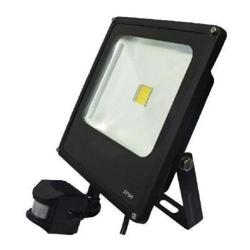 LED reflektor NOCTIS 2 50W SMD2835 PIR 3250lm SLIM TEPLÁ