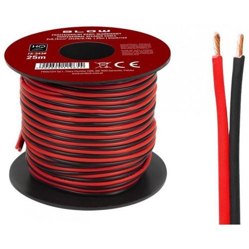 Kabel dvoulinka 25m 0,75mm2 pro napojení LED pásků.