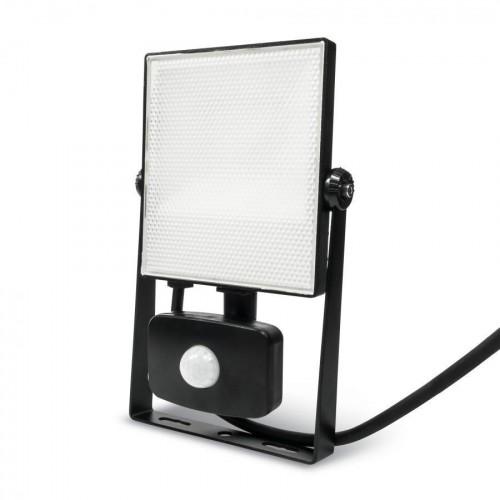 LED reflektor PIR 20W SMD2835 1850lm ULTRA SLIM NEUTRÁLNÍ