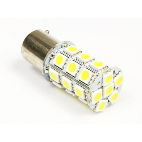 LED auto žárovka 12V BA15S 27SMD5050 5,4W