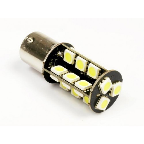 LED auto žárovka 12V BA15S 27SMD5050 CAN BUS