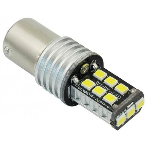 LED auto žárovka 12V BAY15S 15xSMD2835 5W
