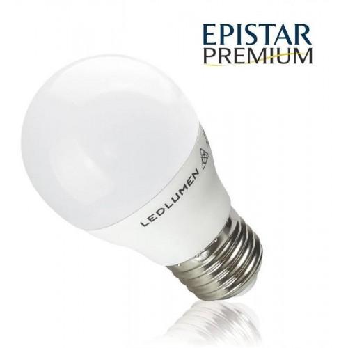 LED žárovka PREMIUM 8W 15xSMD2835 E27 806lm CCD TEPLÁ BÍLÁ