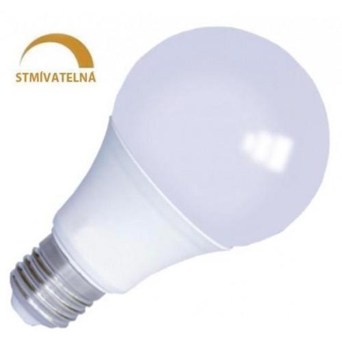 LED žárovka 10W 24xSMD2835 E27 800lm CCD STMÍVATELNÁ STUDENÁ