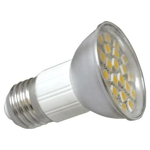 LED žárovka 4,5W 27xSMD E27 380lm TEPLÁ BÍLÁ