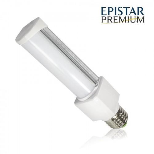 LED žárovka PLC E27 PREMIUM 8W 11xSMD2835 780lm CCD TEPLÁ BÍLÁ