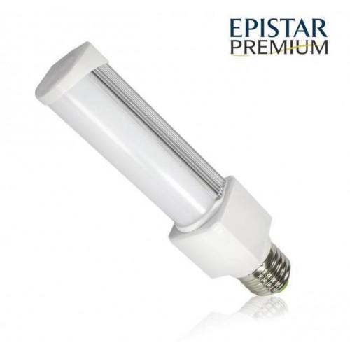 LED žárovka PLC E27 PREMIUM 8W 11xSMD2835 780lm CCD NEUTRÁLNÍ BÍLÁ