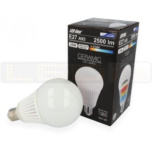 LED žárovka 25W CSP 2500lm E27 A93 CCD TEPLÁ