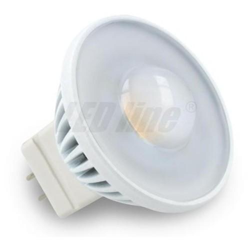 LED žárovka 3,5W SMD2835 GU4/MR11 30° 220lm 12V TEPLÁ