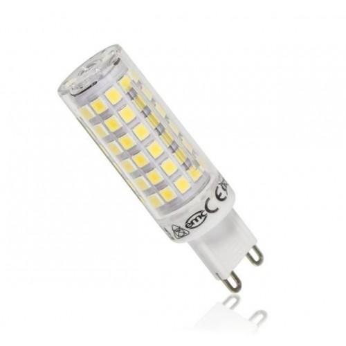 LED žárovka 12W 80xSMD2835 G9 1080lm TEPLÁ BÍLÁ
