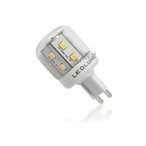 LED žárovka 2,6W 16xSMD2835 G9 300lm TEPLÁ