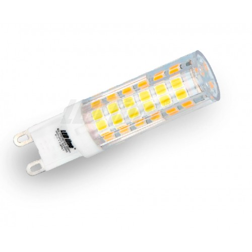 LED žárovka 6W 72xSMD2835 G9 550lm TEPLÁ BÍLÁ