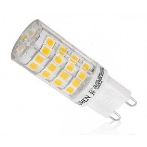 LED žárovka 5W 51xSMD2835 G9 500lm TEPLÁ BÍLÁ