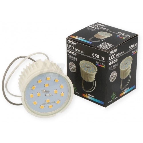 LED žárovka 7W SMD2835 550lm NEUTRÁLNÍ BÍLÁ STMÍVATELNÁ