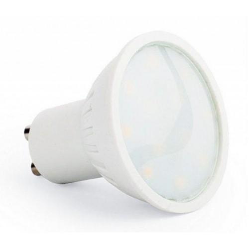 LED žárovka 4W SMD2835 GU10 300lm STUDENÁ BÍLÁ
