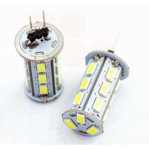 LED žárovka 4W 18x5630 G4 360lm 12V DC STUDENÁ