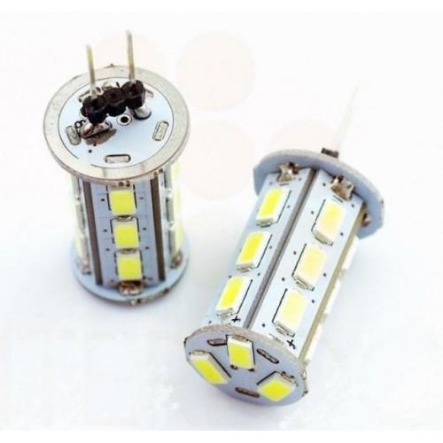 LED žárovka 4W 18x5630 G4 360lm 12V DC NEUTRÁLNÍ