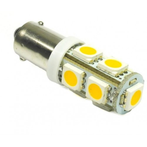 LED auto žárovka 12V LED BA9S H6W 9SMD5050 CAN BUS 1,8W