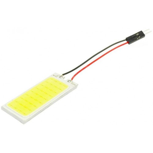 Panel LED COB 36-chip 3x12 + adaptéry C5W a W5W