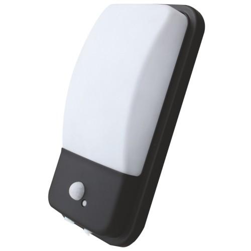 LED přisazené svítidlo 20W s PIR čidlem 48xSMD2835 1600lm, Teplá bílá