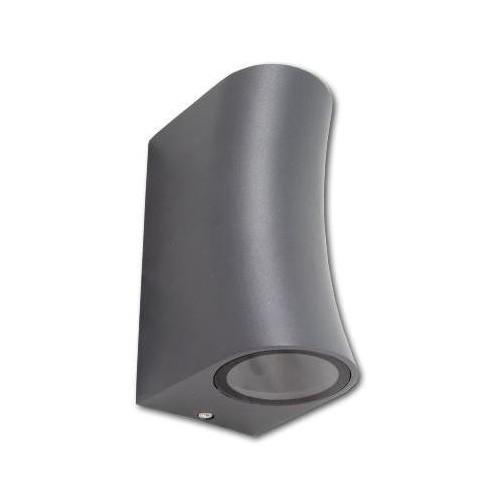 Přisazené venkovní svítidlo DORA 2xGU10, šedé