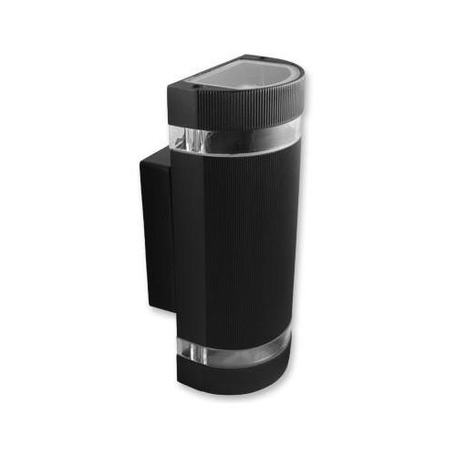 Přisazené venkovní svítidlo HANA O 2xGU10, černé