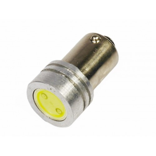 LED auto žárovka 12V LED BA9S HIGH POWER H6W 1W