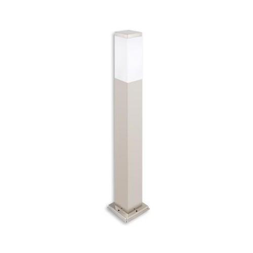 Zahradní svítidlo E27 Havana 65cm stříbrná