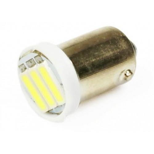 LED auto žárovka 12V LED BA9S T4W 3SMD7014 1W