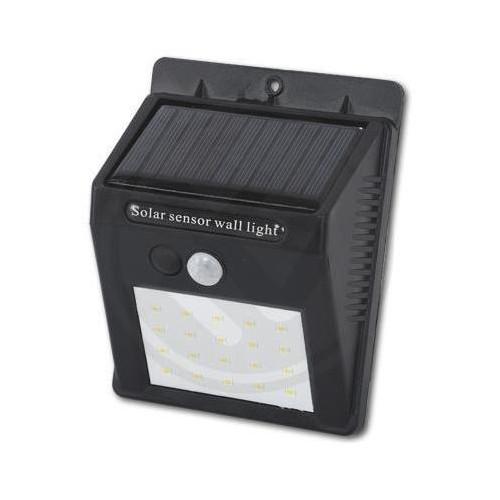 Solární LED reflektor PIR 11W SMD2835 880lm ULTRA SLIM NEUTRÁLNÍ