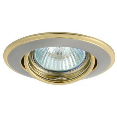 Kanlux 02830 HORN CTC-3115-SN/G - Podhledové bodové svítidlo