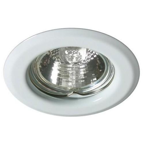 Podhledové bodové svítidlo ALFA bílá + patice, LUX01227