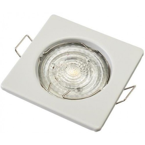 Podhledové bodové svítidlo TOPAZ bílá + patice, LUX01285