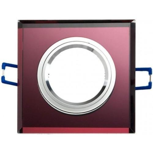 Podhledové bodové svítidlo JASPIS-K fialová + patice, LUX01299