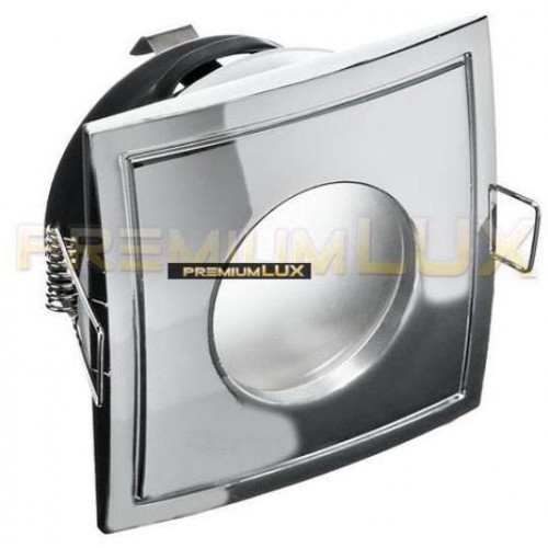 Podhledové bodové svítidlo OMIKRON  chrom, voděodolné, LUX01241