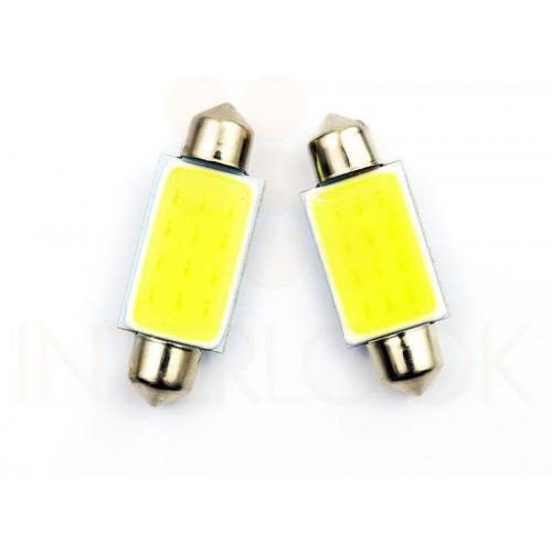 LED auto žárovka LED C5W COB 24 x CHIP HIGH POWER 39mm