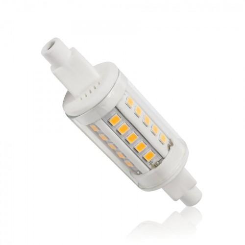 LED 5W - R7s náhrada malé halogenové trubice  30xSMD2835 78mm  CCD TEPLÁ
