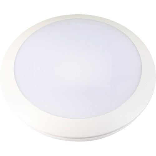 LED svítidlo VERA 16W s mikrovlným čidlem 48xSMD2835 1420lm, plafon, Neutrální bílá
