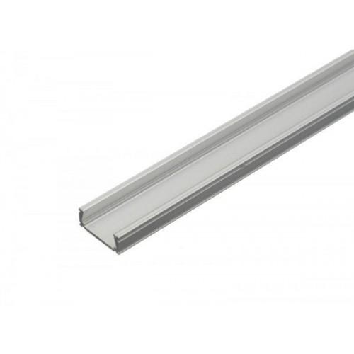 Hliníkový profil MiniLUX 2m pro LED pásky, ALU lišta