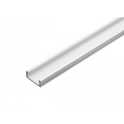 Hliníkový profil MiniLUX BÍLÝ 2m pro LED pásky, ALU lišta